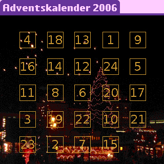 "Screenshot von ""Adventskalender 2006"""